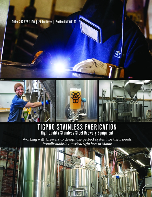 Tigpro Stainless Fabrication ad, 2018
